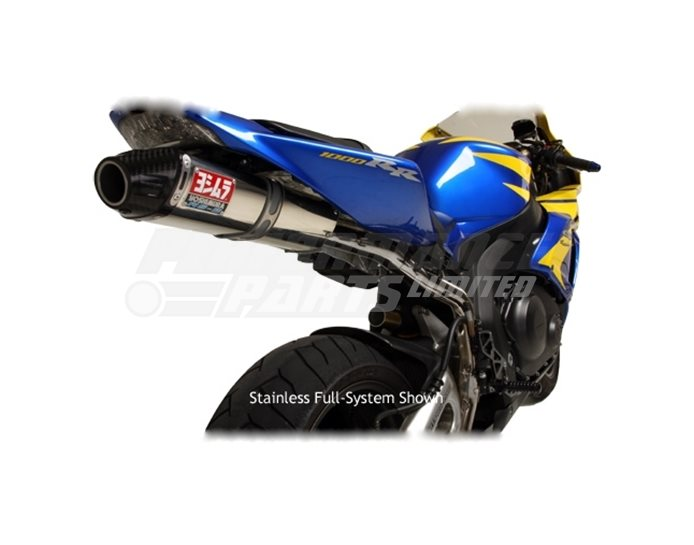 Yoshimura Stainless RS-5 (Carbon Coned End Cap) Slip On RACE (Removable Baffle)