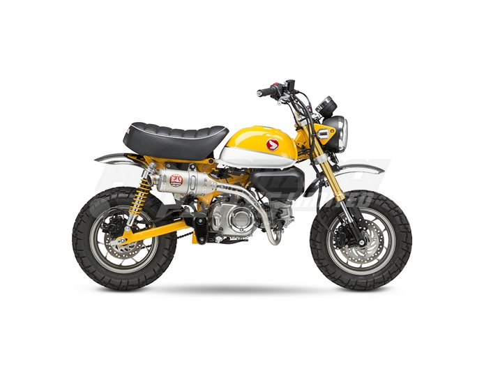 Yoshimura Stainless Street RS-3 Full System, Stainless with Titanium End Cap RACE