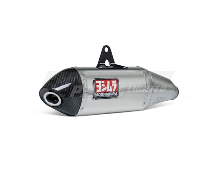 Yoshimura Stainless RS-4 Slip-On Carbon End Cap RACE (Removable Baffle)