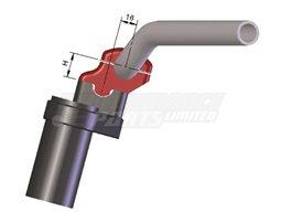127RI28SW - LSL Universal 28.6mm (X-Bar) Handlebar Risers, Black (black or silver available) - bring bars 16mm toward rider