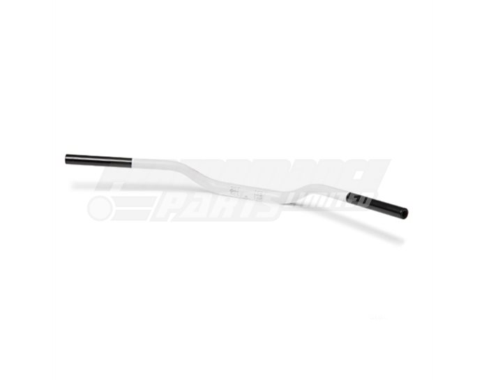 LSL Superbike - medium rise 28.6mm aluminium taper handlebar (X-Bar), White