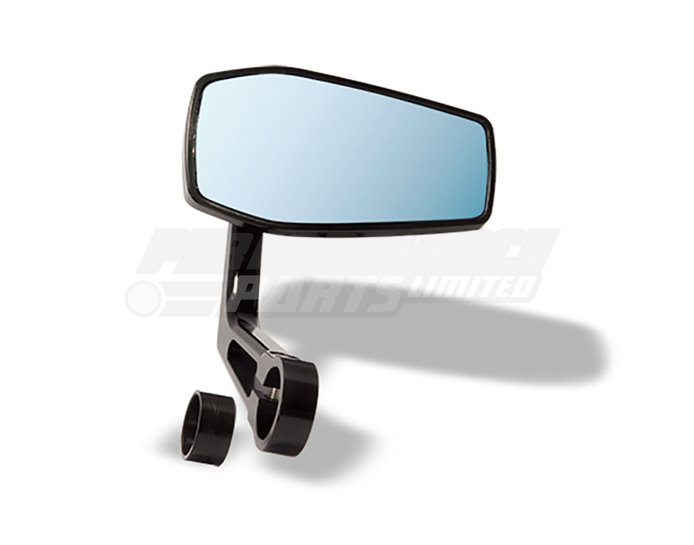 LSL Gonia Bar End mirror - Aluminium, black - single mirror