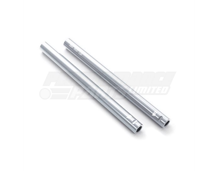 LSL Clip On Handlebar Tubes, Aluminium, 22.2mm, Silver - requires LSL Clip On Mounting Kit