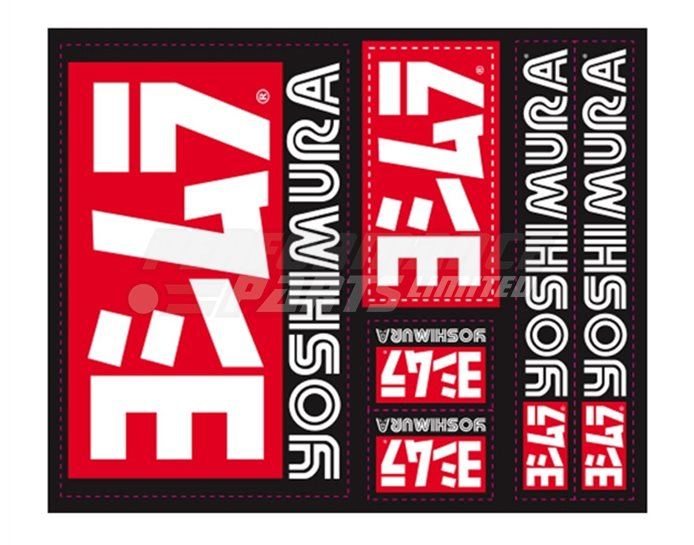Yoshimura Vinyl 6 Sticker Sheet