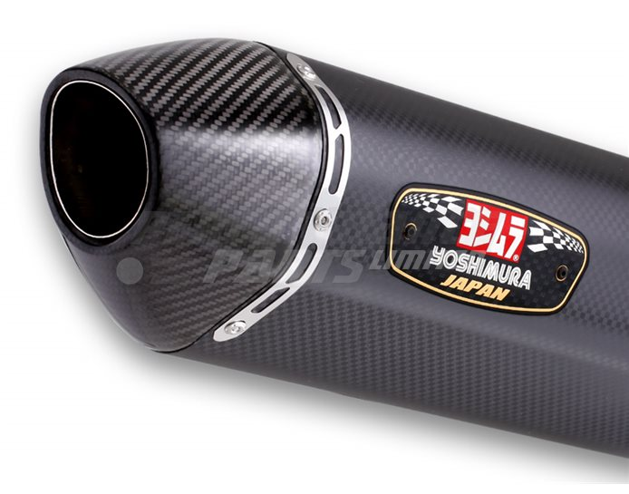 Yoshimura Metal Magic R77J Slip On With Carbon Coned End Cap - Yoshimura Japan - Race (removable Baffle)