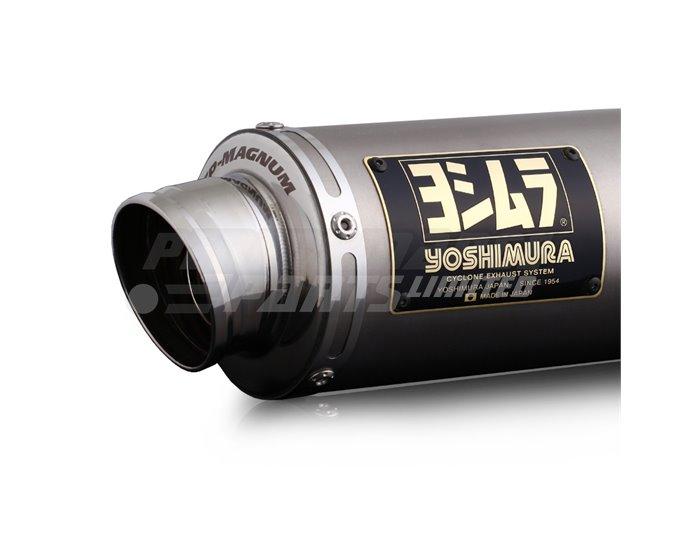 Yoshimura Japan GP-Magnum Slip-On Kit With Matt Stainless Silencer - Race