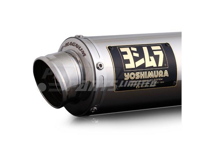 Yoshimura Japan GP-Magnum Slip-On Kit With Stainless Silencer - Race