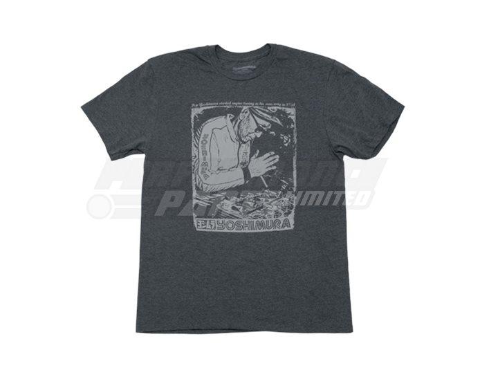 192049-L - Yoshimura Pops Working T-Shirt - Grey - Large