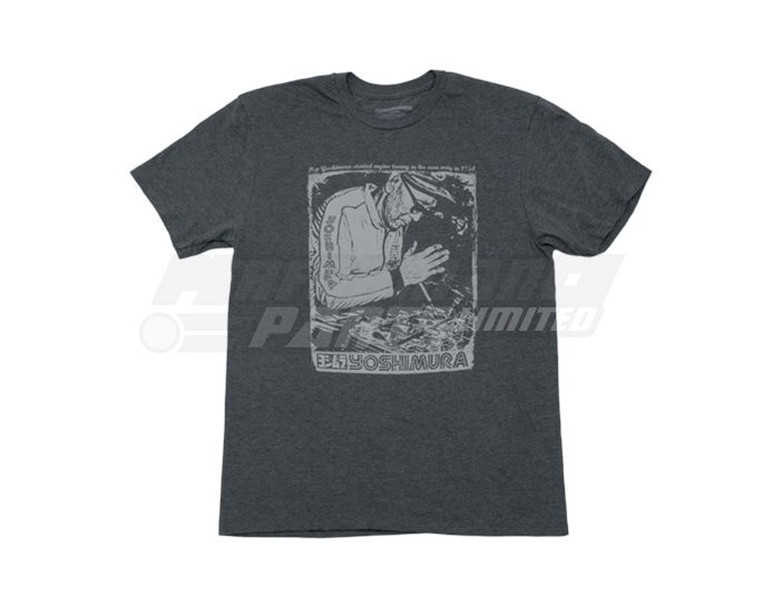 Yoshimura Pops Working T-Shirt - Grey - Medium
