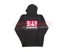 192062-L - Yoshimura Logo Zip Hoody - Black - Large