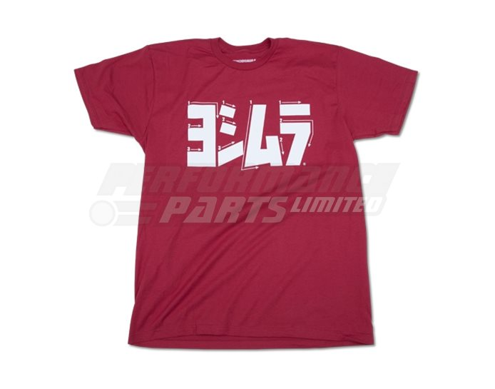 Yoshimura Steps T-Shirt - Red - Small (select size below)