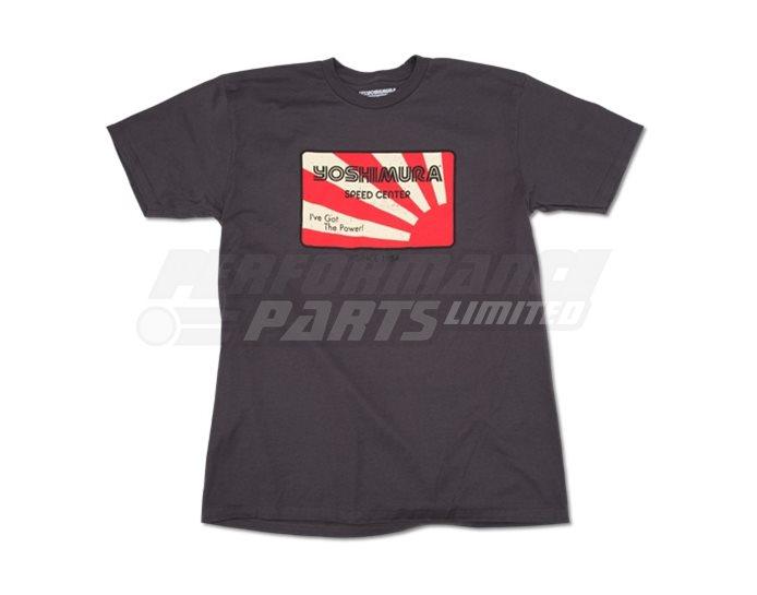 192069-XL - Yoshimura Speed T-Shirt - TAR - XL (select size below)