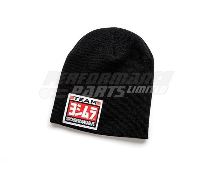Yoshimura Beanie Hat - Black (available in black or grey)