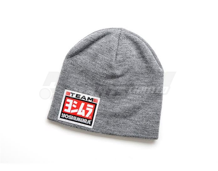 192071 - Yoshimura Beanie Hat - Grey (available in black or grey)