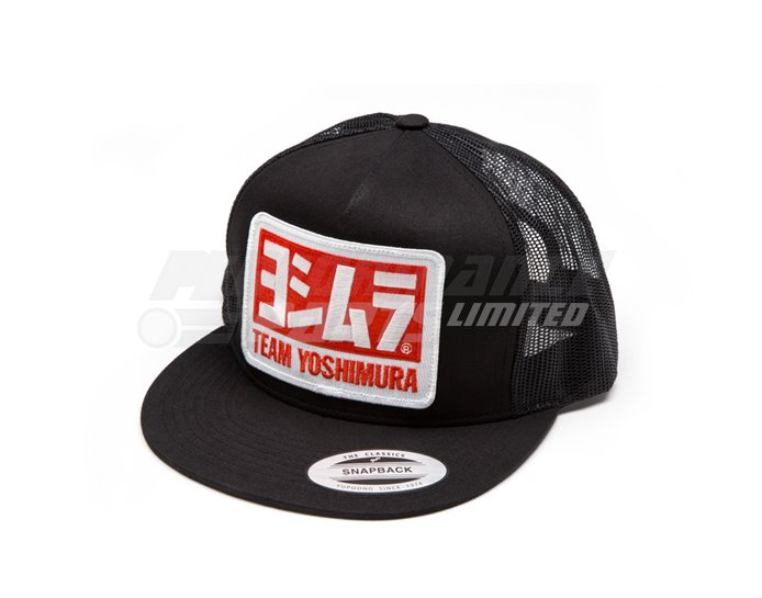 Yoshimura Team Snapback Trucker Hat