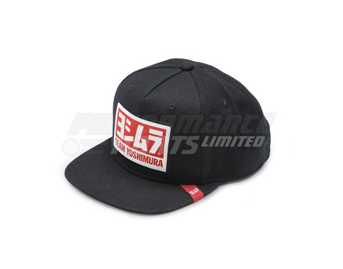 Yoshimura V2 Wool Snapback Logo Hat