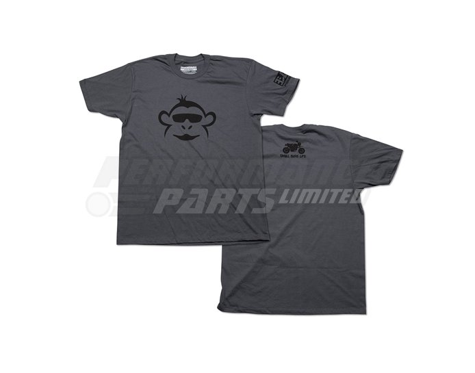 Yoshimura Monkey T-Shirt - Grey - Small (select size below)