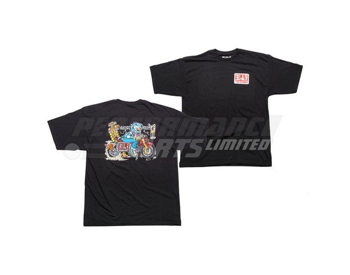 Yoshimura Small Bore Drags T-Shirt - Black - Small (select size below)