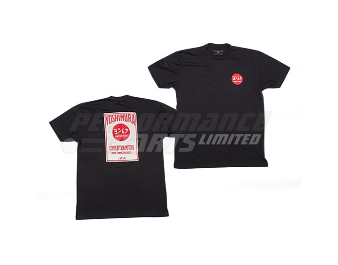 Yoshimura Comp T-Shirt - Black - Medium (select size below)