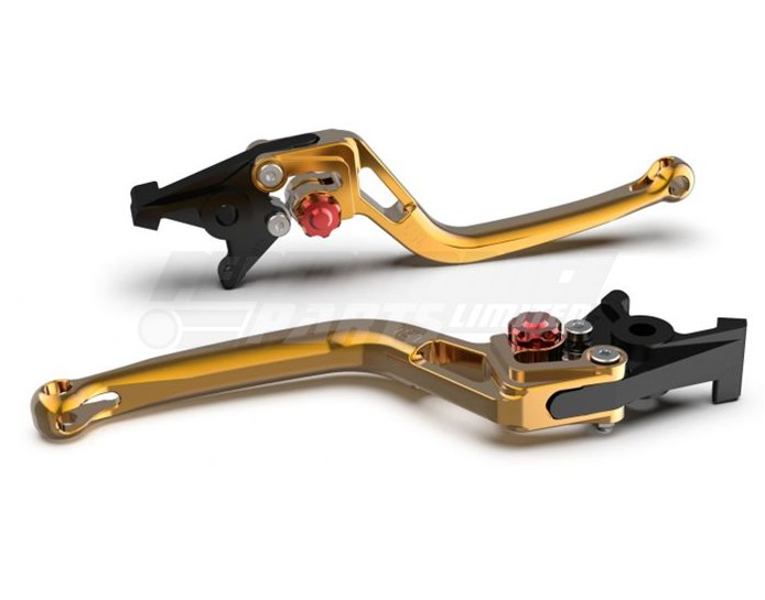 LSL Bow Clutch Lever, Short, Gold - Red Adjuster