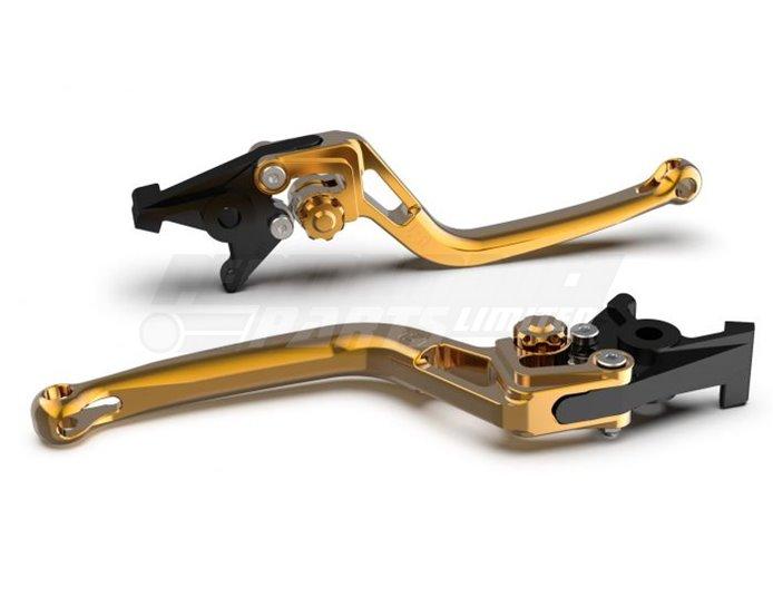 LSL Bow Clutch Lever, Short, Gold - Gold Adjuster