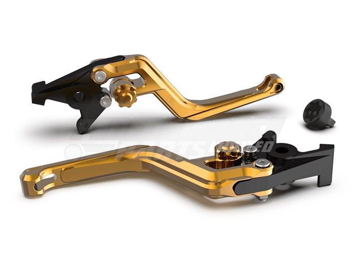 LSL Ergonia Clutch Lever, Gold - Gold adjuster, Gold slider