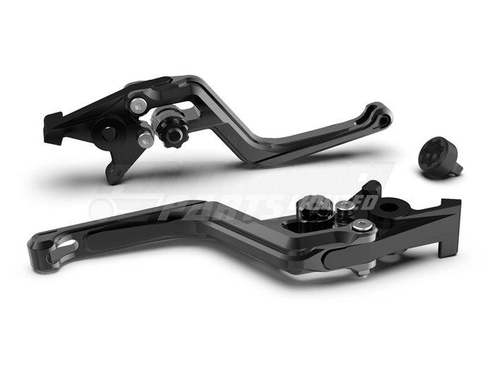LSL Ergonia Brake Lever, Black - Black adjuster, Black slider