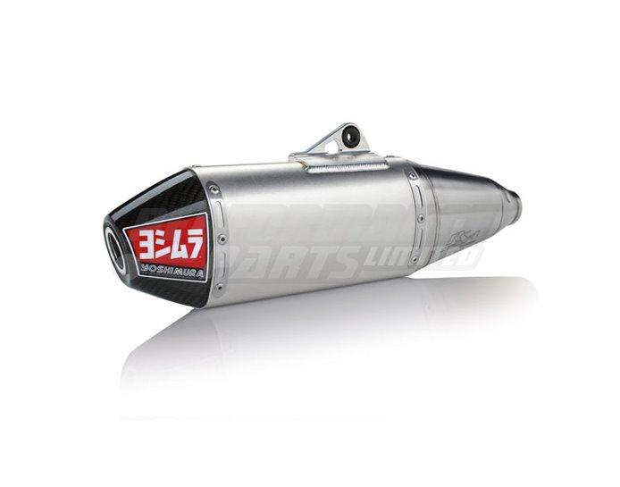 Yoshimura Slip On Kit - RS-4 Silencer - Aluminium Silencer - Carbon End Cap