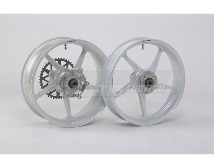 GALESPEED TYPE C  - 5 spoke Forged Alloy REAR 600-17 White