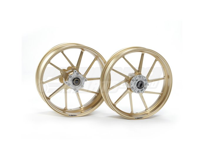 Galespeed Type-R - 10 spoke Forged Alloy Wheel - FRONT - Gold