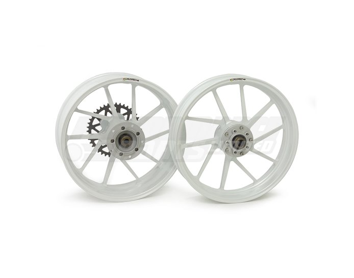 Galespeed Type-R - 10 spoke Forged Alloy Wheel - REAR - White - TPMS Should Be Removed For Installation
