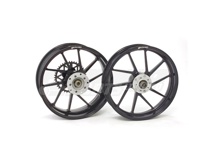 Galespeed Type-R - 10 spoke Forged Alloy Wheel - FRONT - Black