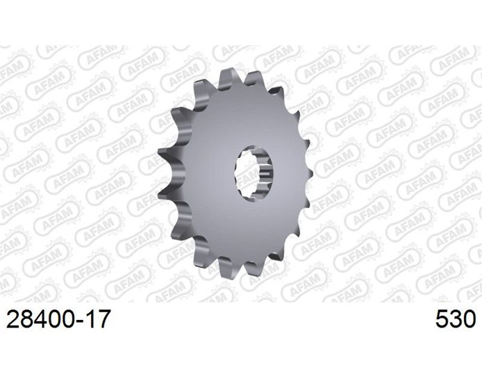 AFAM Front Sprocket, 530 (OE pitch), Steel - 17T (orig size)