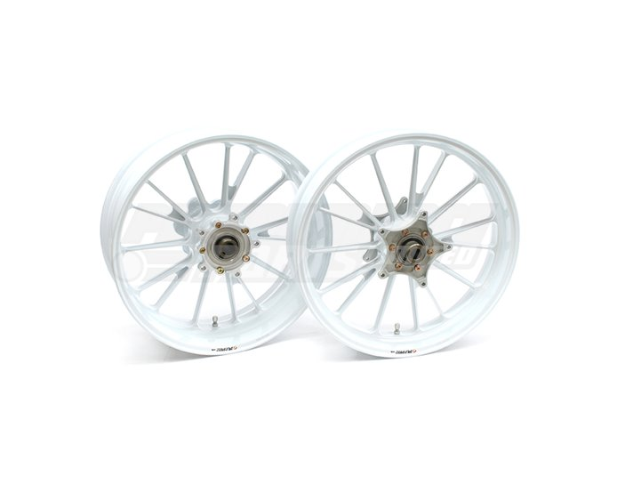 Galespeed Type-S - 15 spoke Forged Alloy Wheel - FRONT - White