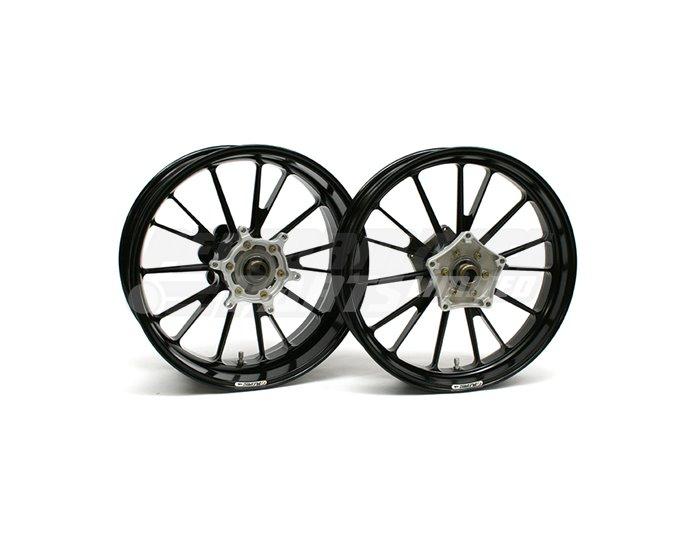 Galespeed Type-S - 15 spoke Forged Alloy Wheel - REAR - Black
