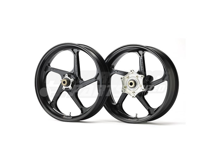 Galespeed Type-GP1S - 5 spoke Forged Magnesium Wheel - FRONT - Black