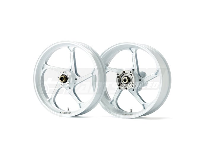 Galespeed Type-GP1S - 5 spoke Forged Alloy Wheel - REAR - White - White