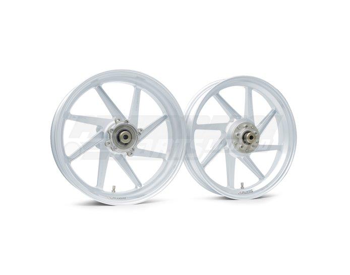 Galespeed Type-E - 8 spoke Forged Alloy Wheel - FRONT - White