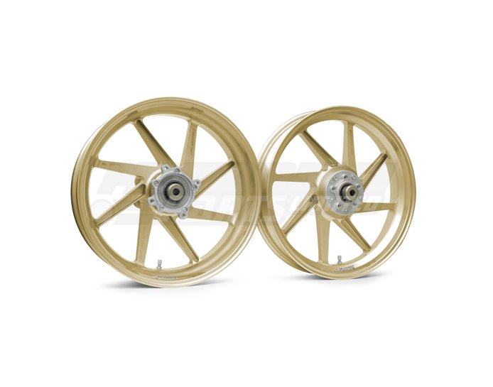 Galespeed Type-E - 8 spoke Forged Alloy Wheel - REAR - Gold - 6 Inch Upgrade Rim