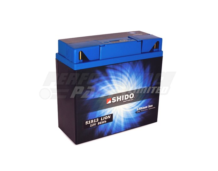 Shido Lithium Battery 51913-LION