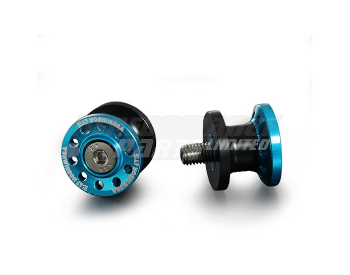 584-0H8-2000 - Yoshimura Japan High Line Paddock Stand Bobbins, Blue other colours available. - 8mm