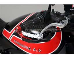 697-002-1400 - Yoshimura Brake Lever Guard - Red (Other Colours Are Available) - (14mm)