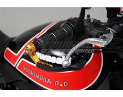 697-002-6400 - Yoshimura Brake Lever Guard - Gold (Other Colours Are Available) - (14mm)
