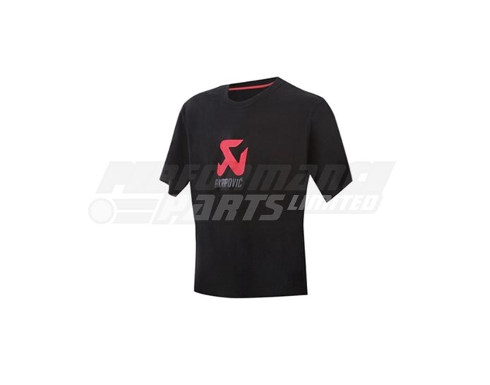 Akrapovic Women's Logo T-shirt - Black - size Small (select size below)