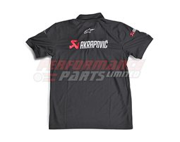 801302 - Akrapovic-Alpinestars Polo Shirt, size Small (select size below)