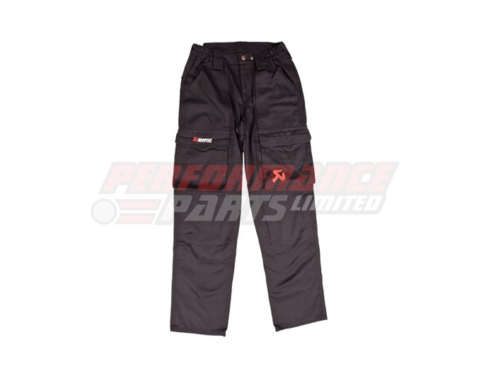 Akrapovic Men's Cargo Trousers - Black - size Small (select size below)