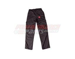 801442 - Akrapovic Men's Cargo Trousers - Black - size Small (select size below)