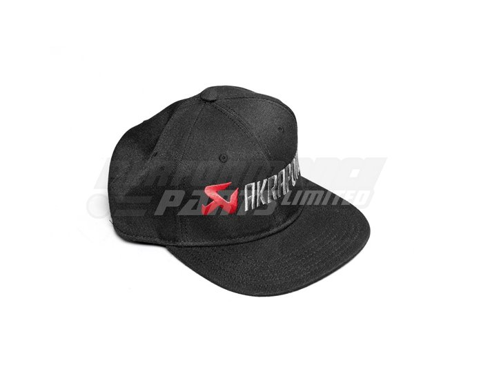 Akrapovic Baseball cap - Adjustable With Flat Peak