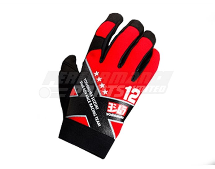 Yoshimura Multi Purpose Glove Large - Red (various colours and sizes)