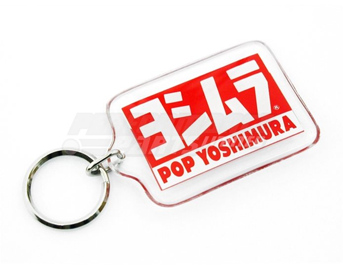 903-088-0000 - Yoshimura POP Key Ring - Plastic